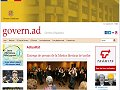 Website of the Government of the Principality of Andorra
